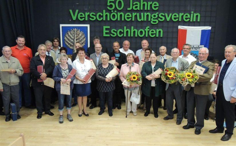 Dorffest zum 50 jährigen Jubiläum des Verschönerungsvereins Eschhofen 1963 e. V.