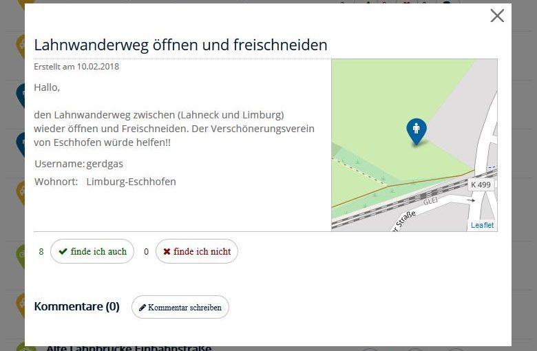 Ideen gefragt! Masterplan Mobilität – Limburg an der Lahn – Ein Projekt der Stadt Limburg